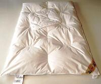 Baby Kinder Betten Set 2 Tlg. Bettdecke 100x135 cm. Daunen/Federn +1 Kopfkissen