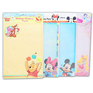 DISNEY-Briefpapier-Druckerpapier-80St-A4-Prinzessin-Kinder-Papier-Geschenk