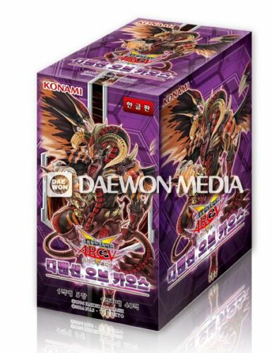 """YuGiOh cartes /""""Dimension of Chaos/"""" BOOSTER BOX//Korean Ver//40 Booster Pack"""