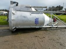 1100 Gallon Stainless Steel Cone Bottom Tank