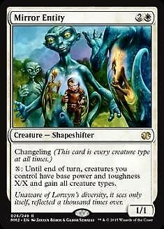 Commander 2016 R NM//M Mirror Entity MTG Magic -