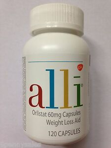 Details About Alli Weight Loss Aid 120 Pill Capsule Refill Pack Orlistat 60mg Ali Ally Allie