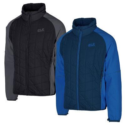 Aggressiv Jack Wolfskin Grassland Hybrid Jacket Men Herren Outdoor Freizeit Jacke 1204291