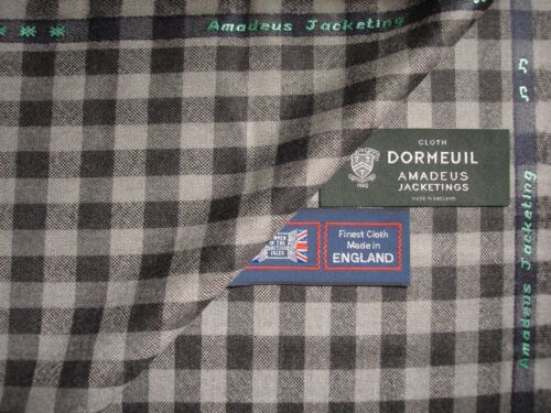 DORMEUIL 'Amadeus Jacketing'  LUXURY WOOL FABRIC MADE IN ENGLAND 2.0 m