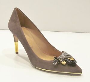 J Crew Collection Bejeweled Pumps Sz 7.5