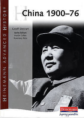 1 of 1 - China 1900 - 76 (Heinemann Advanced History), Good Condition Book, , ISBN 978043