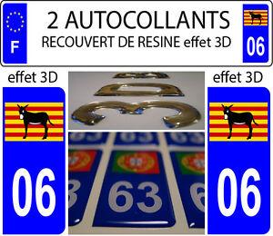 2-adesivi-per-targa-auto-EFFETTO-DOMING-3D-RESINA-Ane-Catalano-Burro-DEP-06