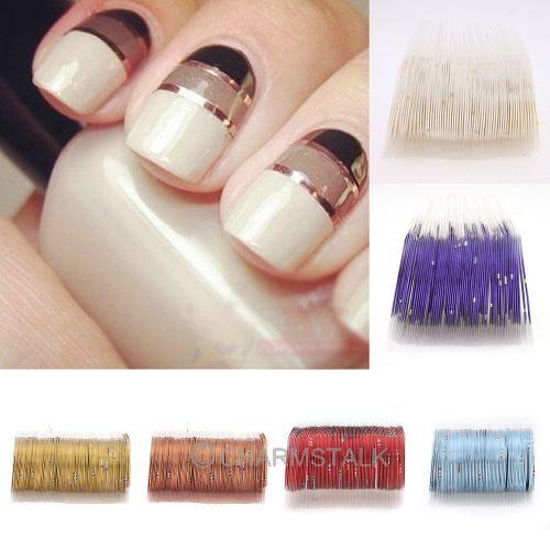 10pcs Rolls Striping Tape Line for Nail Art Decoration Sticker DIY Tools Beauty