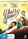 What's In A Name? (DVD, 2013)