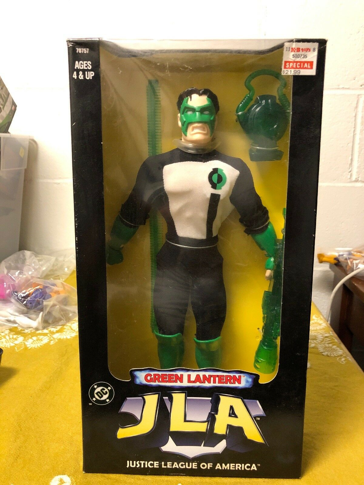 DC Justice League of America 12    GREEN LANTERN Action Figure JLA 1998 Sealed 4abd6b