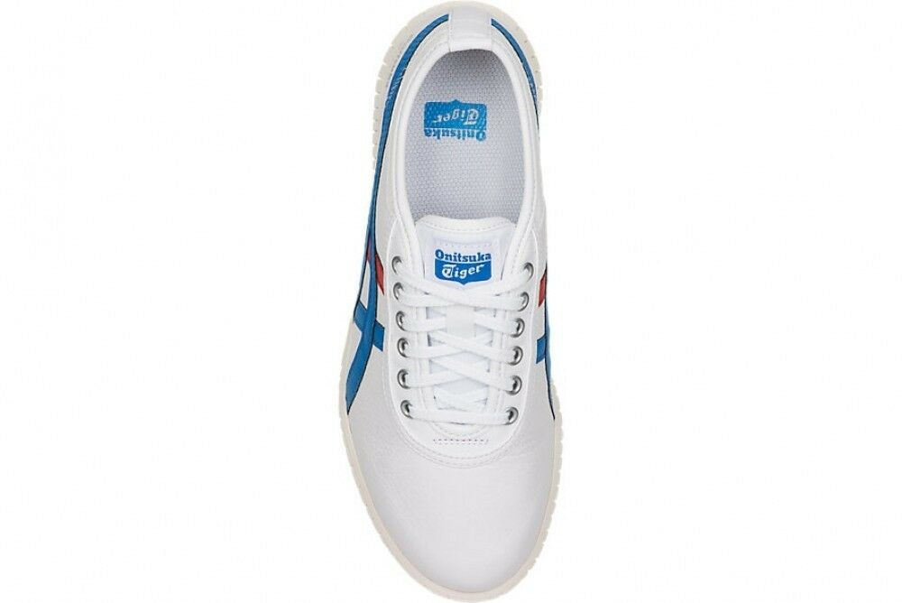 Asics Asics Asics Japan Onitsuka Tiger TSUNAHIKI 1183A084 White × Direct Wall Blue c0c3ca