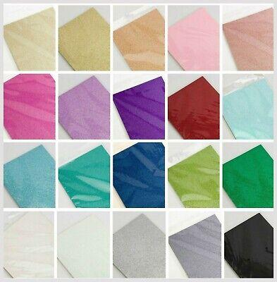 A4 Glitter Carta Cartoncino Basso Capanno Qualità Premium 250gsm - 21 Colori- Stile (In) Alla Moda;