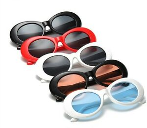 ac9f3d7e7aa30 Clout Round Sunglasses for Men and Women Fashion Retro Goggles Sun ...