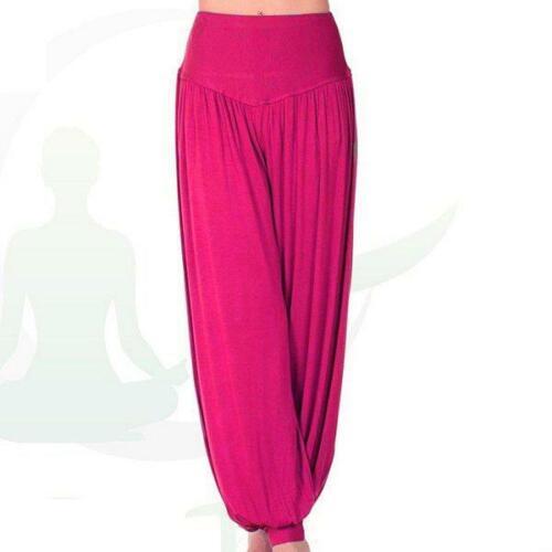 Womens Ladies Baggy Harem Trousers Pants Loose Fit Yoga Hareem Leggings T