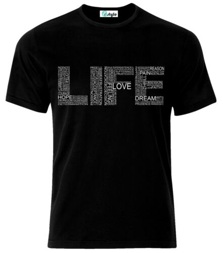 Life Typography Quotes T-Shirt