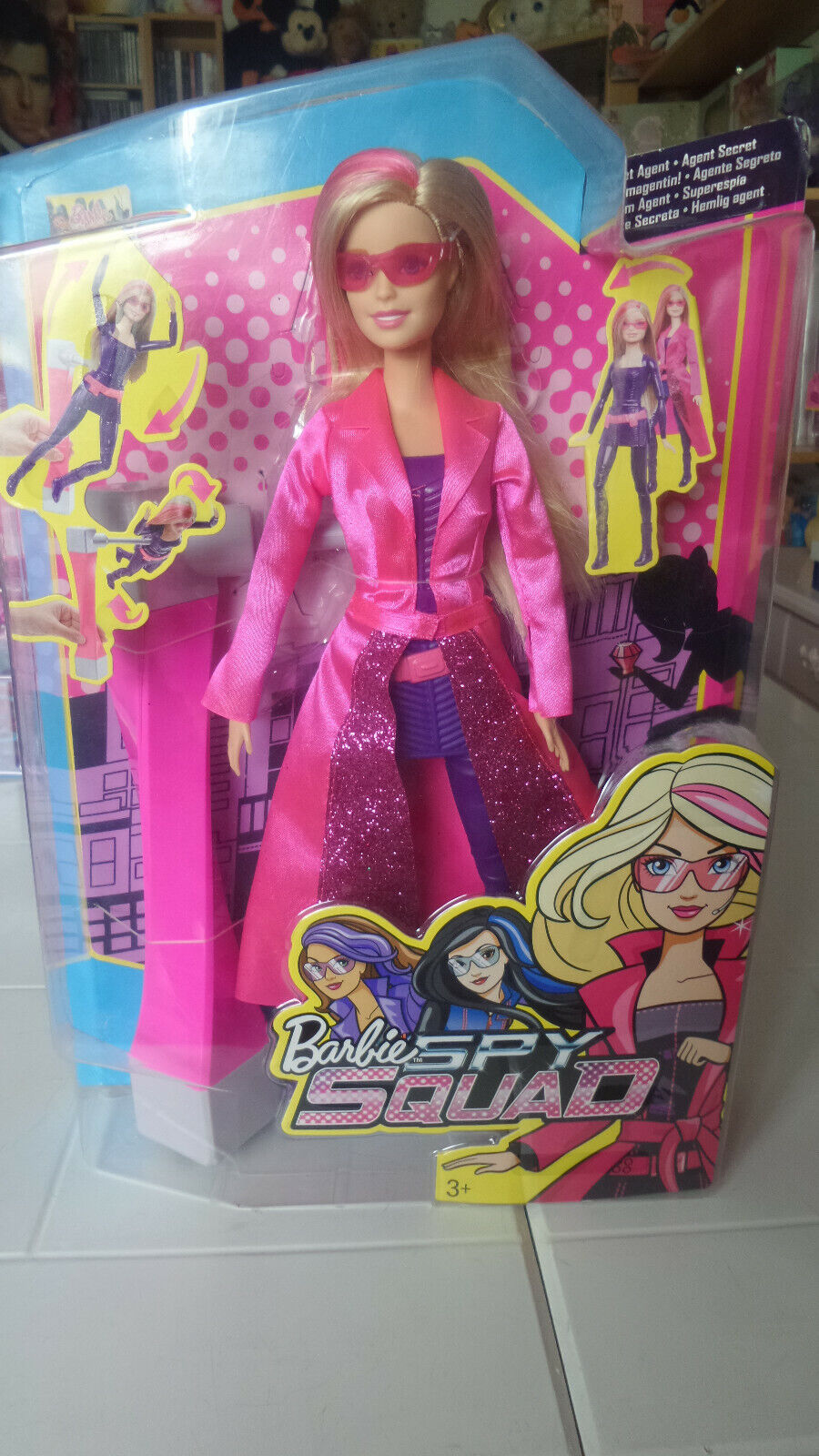 887961210262 Barbie in das Agenten Agenten Agenten Team Mattel DHF17 Puppe OVP 2015 989632