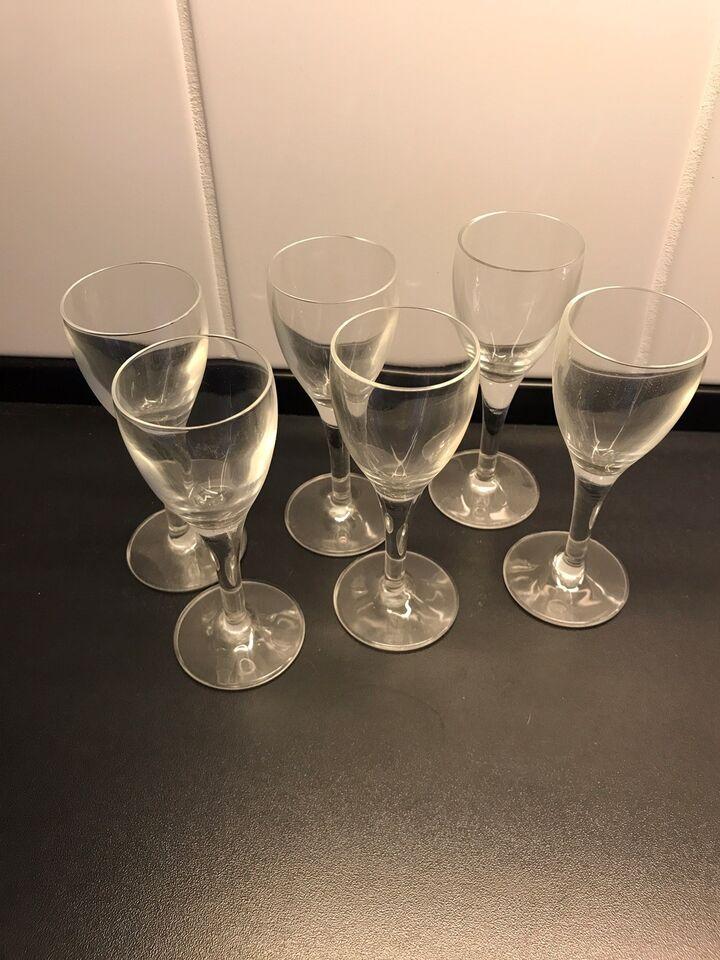 Glas, Snapseglas, shotglas