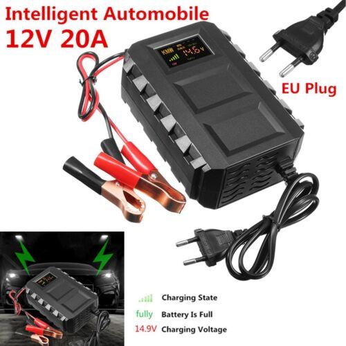 12V Car Van Motorcycle Battery Charger US Plug Smart  Lead Acid Battery Charger