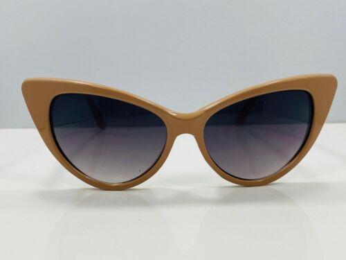 Tan Cat Eye Sunglasses Shades