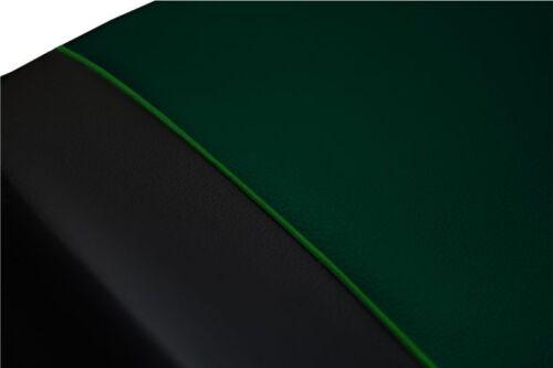 Green Eco-cuero Universal Furgoneta Fundas De Asiento 2+1 Para Volkswagen T4 1989-2003