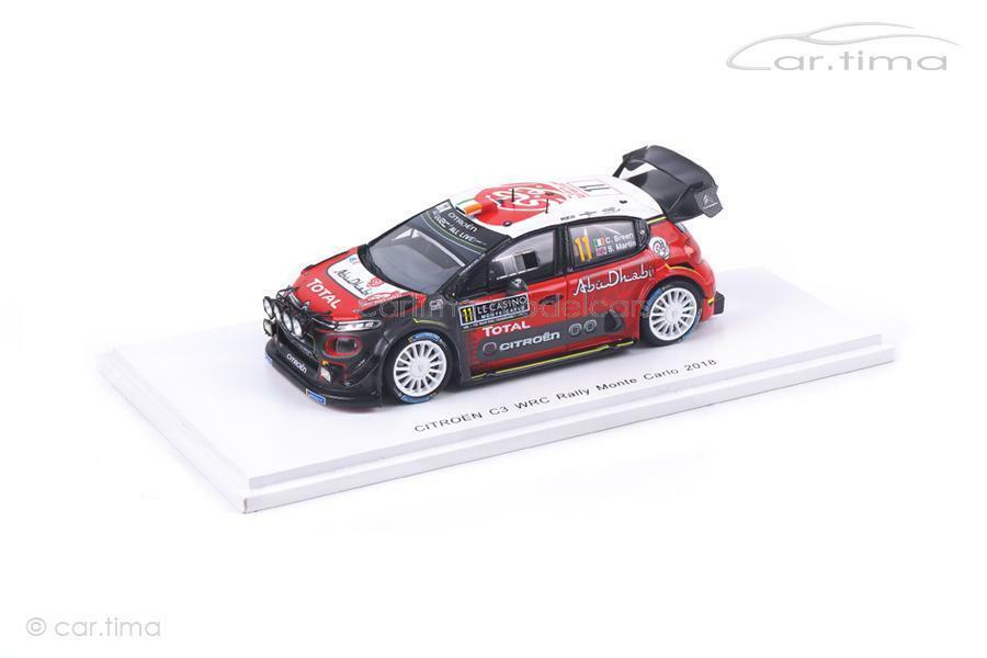 Citroen c3 wrc-Rally Monte Carlo 2018-Breen Martin-Spark - 1 43 - s5961