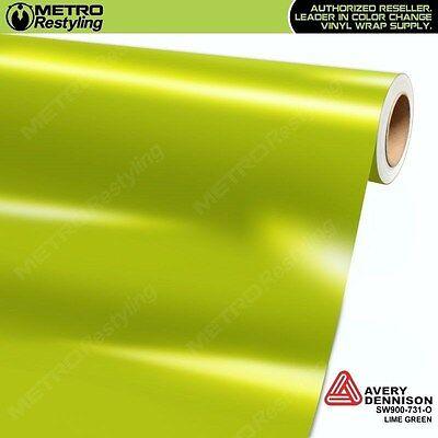 Matte Flat Lime Light Green Vinyl Car Wrap Film Auto Decal Sticker Sheet Roll