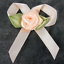 Satin-Ribbon-Bows-with-Rose-35-40mm-Rosebuds-White-Pink-Yellow-Red thumbnail 4
