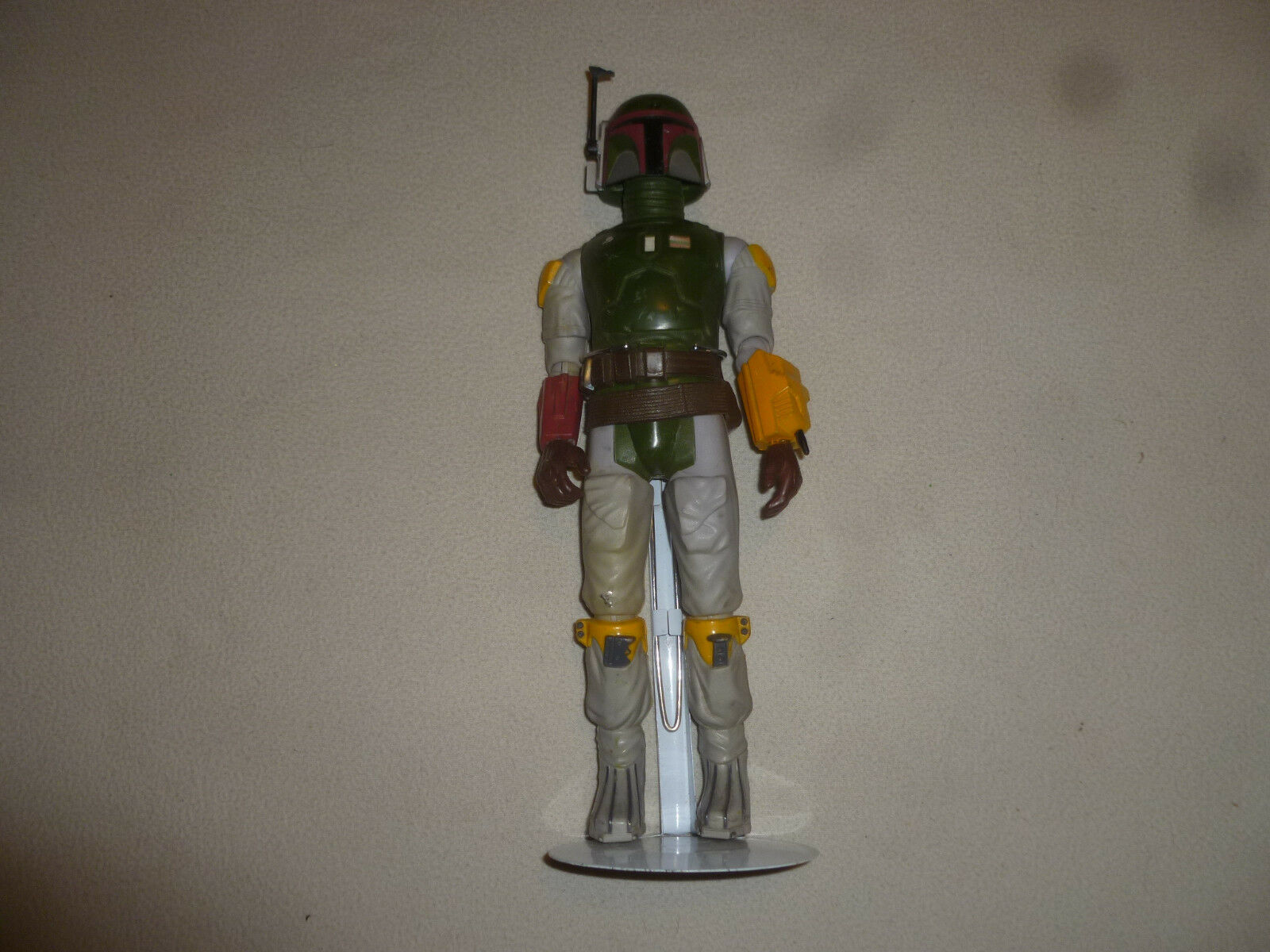 Vintage 1979 star wars 12  figure boba fett kenner bounty hunter w belt stand