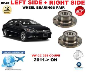 Für VW cc Hinterradlager Paar 2011-   nach 358 Coupe Links & Rechts Hand Side