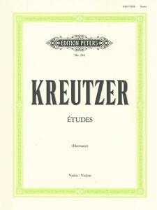 Efficace Kreutzer Studies Or Caprices (42) Hermann Violin* Nombreux Dans La VariéTé