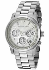 Michael Kors Women's MK5304 Silver Stainless-Steel Watch Mother-of-Pearl Dial