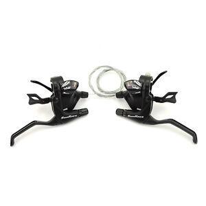 Sunrace-STMX30-Bicycle-Trigger-Shifter-amp-Brake-Lever-Set-3x11-Speed-Black