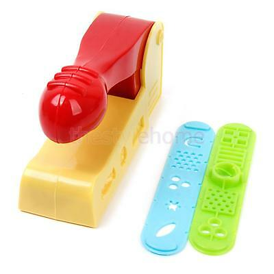 Plastic Dough Craft Clay Extrusion Mold Tool Set Kids Learn Play Toy