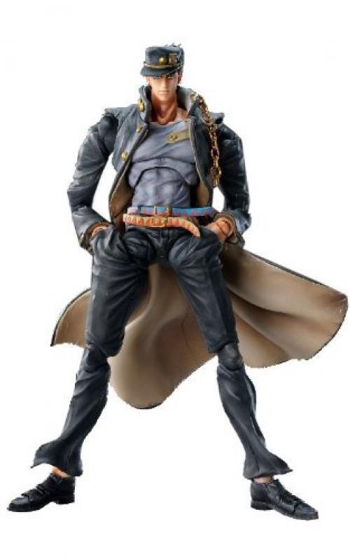 Neu Teil Drei Super Figur Beweglich   JOJO'S Bizarre Abenteuer   Jotaro Khujo