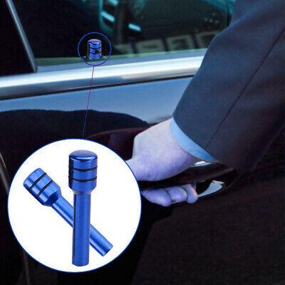 2pcs Aluminum Black Car SUV Truck Interior Door Lock Knob Pull Pin Universal