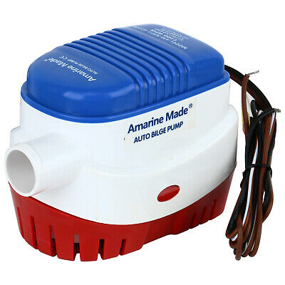 NEW Amarine-made 12v 2000gph Automatic Submersible Boat Bilge Water Pump JM-016