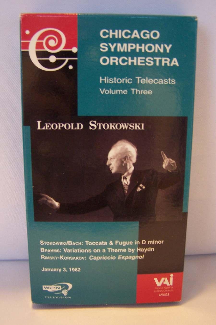 Chicago Symphony Orchestra: Historic Telecasts Vol 3 Le