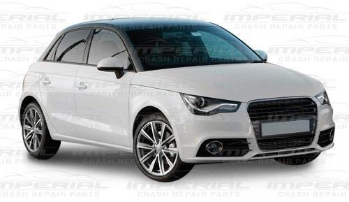 Door Mirror Cover Passenger Front N//S Left in Primer Cap Audi A1