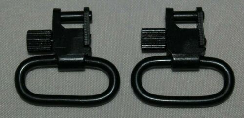 "Rfile Sling Swivles 1/"" Diameter Quick Detach Sling Loops Swivel Steel Black APSL"