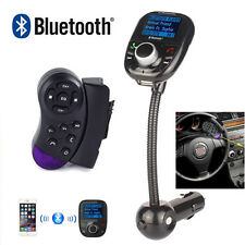 Steering Wheel Control+LCD MP3 Bluetooth Player Transmitter Radio FM Modulator