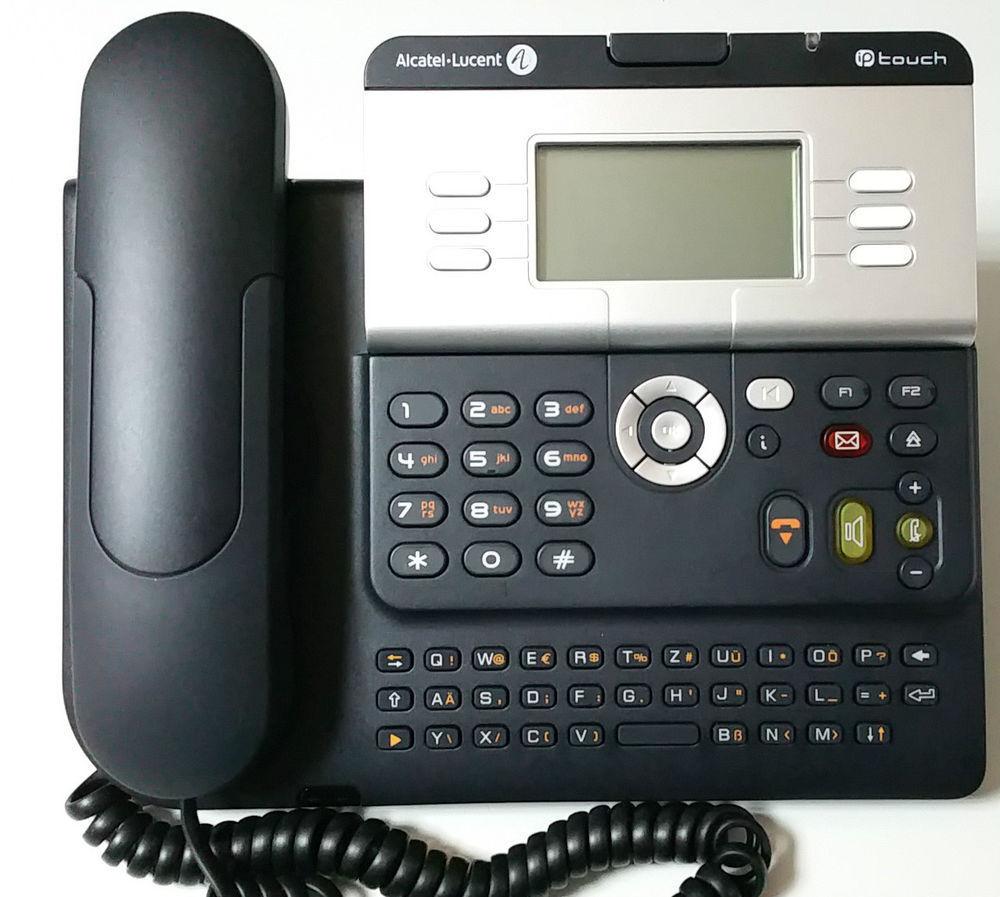 Telekom Alcatel Alcatel Alcatel Lucent téléphone OCTOPHON ouvert 4029 IP 141 EE bleu glacé 516eb5