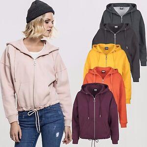 Urban classics damen kimono zip hoodie damenjacke hoody - Kimono jacke damen ...