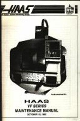 Haas VF Series Vertical Machining Center Manual Year 1992