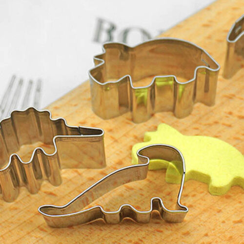 Biscuit Cutters Cookie Cutter Stainless Steel Dinosaur Shape Baking PastryMold
