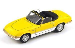 Lotus Elan Sprint Dhc 1971 Jaune 1:43 Spark S2227