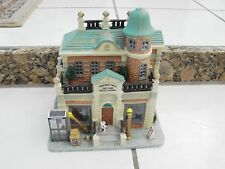 Lemax  Christmas Village Police Precinct 6  Lighted Building  w/o Box