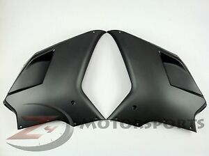 Matte Ducati 848 1098 1198 Upper Front Side Radiator Fairing Cowl