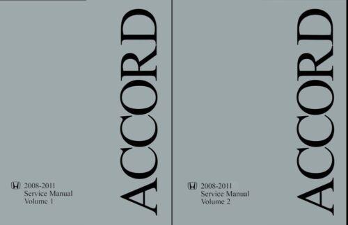 2008 2009 2010 2011 Honda Accord Shop Service Repair Manual 4 Cylinder Models
