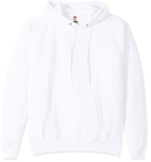 Hanes Branded Printwear OP170 Mens Pullover Ecosmart Fleece Hooded