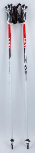 "$150 LEKI Speed Trigger S Ski Poles 110CM 44/"" Downhill Skiing Aircraft Aluminum"